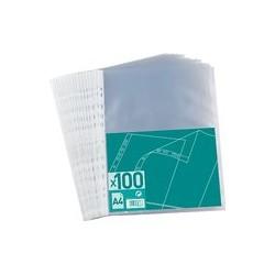 Lot de 100 pochettes plastifiées